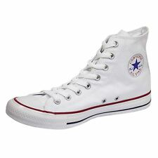 CONVERSE TRAINERS CHUCK TAYLOR ALL STAR HI WHITE UNISEX SNEAKERS