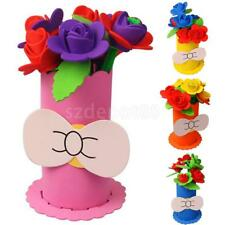 DIY Eva Foam Basket Puzzle Early Learning Education Creative Toy for Child Craft