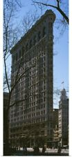 Poster Print Wall Art entitled Flatiron Building Manhattan New York City NY