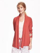 NWT Old Navy Womens Open-Front Rib-Knit Cardigan XS or S $34.94 Orange Sweater
