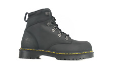 Dr Martens 6630 Holkham Black Safety Boots With Steel Toe Caps