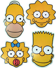 THE SIMPSONS - FUN FACE MASKS - 4 TO CHOOSE FROM & MULTIPACK - FREE SHIPPING!