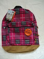 NWT YAK PAK BACKPACK STUDENT BACKPACK WITH GENUINE SUEDE BOTTOM