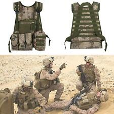 Tactical Military Combat Assault Airsoft Molle Attachment Top Carrier Vest