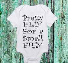 Pretty Fly for a Small Fry Onesie - Cute Baby boy or Girl clothes- Newborn