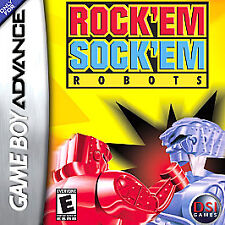 Rock Em Sock Em Robots Nintendo Game Boy Advance GBA & DS  Brand New - In Stock