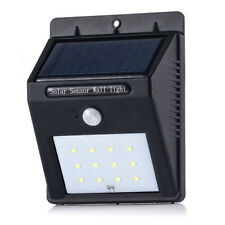 12LED Solar Power PIR Motion Sensor Wall Light Outdoor Garden Lamp wholesale