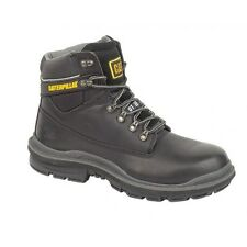 CAT Generator Black Safety Boots & Steel Toe Caps With Midsole Cat Safety B