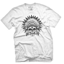 Fifty5 Clothing Indian Chief Skull Men's T Shirt