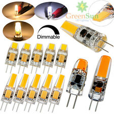 Dimmable G4 3W 6W LED COB Capsule Bulb Replaces Halogen Light Lamp Silicone