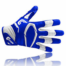 Cutters S451 REV PRO 2.0 American football receiver gloves, royal