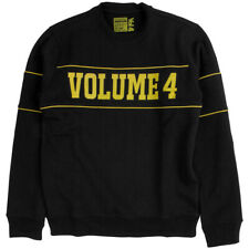 VOLUME 4 DROP OUT CREW NECK BLACK SKATEBOARD FREE POSTAGE AUSTRALIAN SELLER