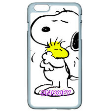 DIY SNOOPY With Bird For Apple iPhone iPod & Samsung Galaxy Note 7 Case Cover