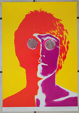 Original 1967 vintage 'John Lennon' Richard Avedon Poster, BEATLES, Mint