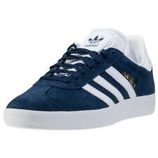 adidas Gazelle Womens Trainers Navy White New Shoes