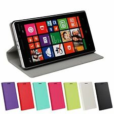 Super Slim PU Leather Stand Card Case Cover Protector FOR Nokia Lumia 930 N930