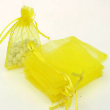 50 Organza Gift Bags Jewellery Christmas Packing Pouches Wedding Party Favour