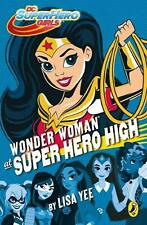 NEW Wonder Woman at Super Hero High by Paperback Book Free Shipping