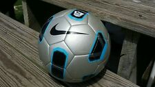 NIKE T90 TOTAL 90 PITCH PREMIER LEAGUE EPL Size 4 Football/Soccer Ball Silver