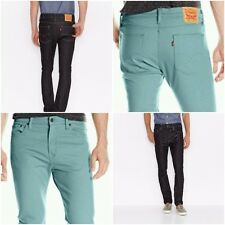 New Levi's Men's 510 Skinny Fit Jeans Two Colors Many Sizes Free Shipping NWT