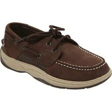 NEW Sperry Top-Sider INTREPID CIGAR Brown Boat Shoes Youth Boys Size 3M