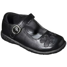 NWT Cherokee DAWNA Toddler Girls Black Mary Janes Dress Shoes Sz 11