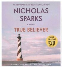 True Believer by Nicholas Sparks Compact Disc Book (English)