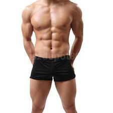 Men's New Fashion Built-in Pouch Underwear Meryl Comfy Sexy Boxer Briefs