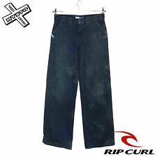 RIP CURL 'WENDY RON' WOMENS JEANS TROUSERS DISTRESSED LOOK UK 8 12 BNWT RRP £53