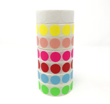 "1000 3/4"" Self-Adhesive Price Label Dots - Color Coding Labels - Dot Stickers"