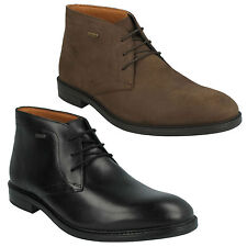 CHILVER HI GTX MENS CLARKS WATERPROOF LACE UP LEATHER FORMAL ANKLE DESERT BOOTS