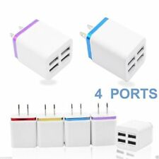 US/EU Plug USB Wall Charger Power Adapter For iPhone Samsung Glaxy Multi-colors