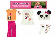 NWT Gymboree Panda Academy Mixed Pieces and Sets Size 3-4, 5T, 5, 5-7