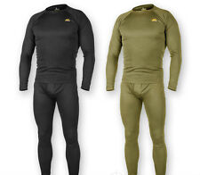HELIKON THERMAL MENS UNDERWEAR SET LEVEL 1 TACTICAL ARMY MILITARY SECURITY BLACK