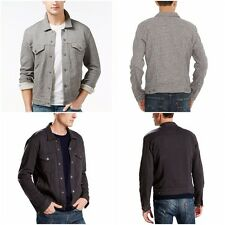 New Levi's Men's French Terry Trucker Jacket 2 Colors Big Sizes Free Shipping