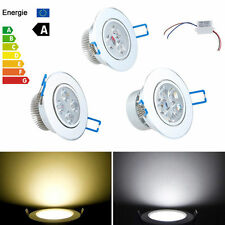 Dimmable 9W 12W 15W LED Ceiling Downlight Recessed Cabinet Lamp Warm Cool White