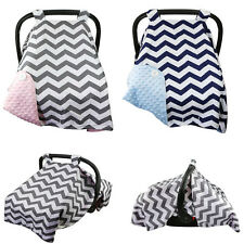 Car Seat Canopy Cotton Infant Car Seat Canopy Cover Keeps Baby Cool Sun Shade