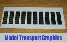 Greater Anglia Destination Blinds for Hornby Bachmann 153 156 158 Sprinter Train