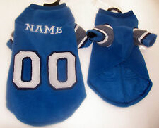 Detroit Lions Polar Fleece Dog Coat