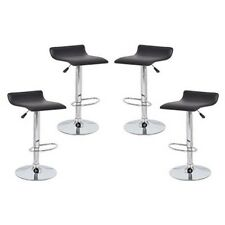 PVC Contemporary S-Curve Kitchen Bar Stools