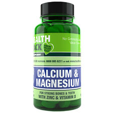 Calcium, Magnesium & Zinc with Vitamin D 200mg Supplement | 250 Tablets