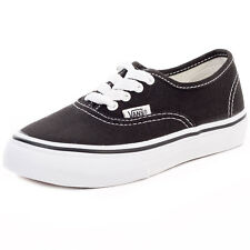 Vans Authentic Kids Trainers Black New Shoes