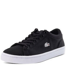 Lacoste Straightest Mens Trainers Black New Shoes