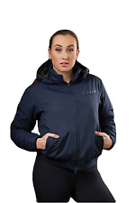 Dublin Trinity Womens Waterproof Blouson Jacket - Navy Blue