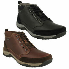 BAYSTONETOP GTX MENS CLARKS WATERPROOF LACE UP CASUAL OUTDOOR ANKLE BOOTS SHOES
