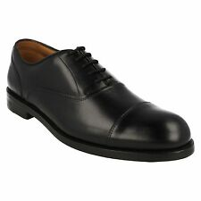 COLING BOSS MENS CLARKS LEATHER LACE UP TOE CAP FORMAL OFFICE WEDDING WORK SHOES