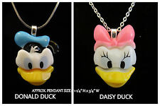 Donald OR Daisy Duck Necklace *OPTION* Heart Bail