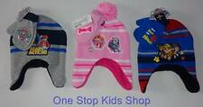 PAW PATROL Boys Girls Winter Set HAT & MITTENS Cap Gloves MARSHALL Skye Chase