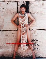 LESLIE ANNE DOWN Pink Panther / Sphinx Movies SIGNED Autograph 8x10 Color Photo