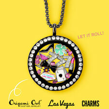 Origami Owl Las Vegas Four Leaf Clover Playing Cards Cosmopolitan #7 Lipstick
